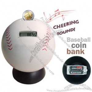 Baseball digital coin counting money bank factories in china 297543560 - Coin bank that counts money ...