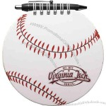 Baseball Sportspad - Sports pad comes with 60 sheets of blank filler and black paperboard back cover