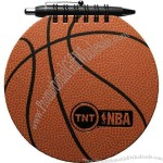 Basketball Sportspad - Sports pad comes with 60 sheets of blank filler and black paperboard back cover