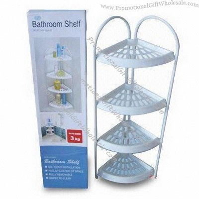 Bathroom Installation on Bathroom Shelf  No Tools Needed For Installation Factories In China