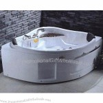 Bathtub Combined with Shower Faucet, Mixer and Shower Head