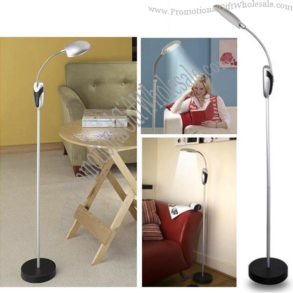 floor lighting battery powered cordless reading lamp with 16 led. Black Bedroom Furniture Sets. Home Design Ideas