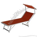 Beach Bed 186x61x38 cm