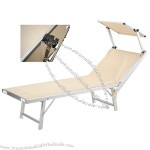 Beach Folding Bed 181x60x39cm