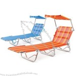 Beach Folding Bed 189x59x28cm