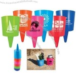 Beach Nik Sand Spike Cup Holder, Ashtray