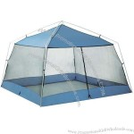 Beach Tent With Blue Coating