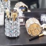 Beauty Crystal Pen Holder