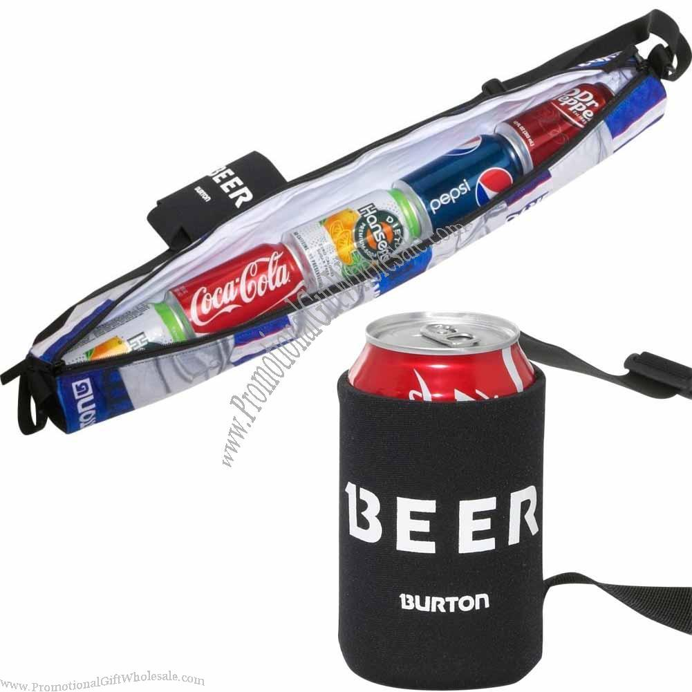 Beeracuda Insulated Beverage Sling Tube Cooler Made In