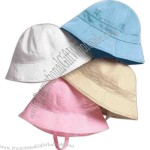 Bella Baby - Infant twill sun hat.