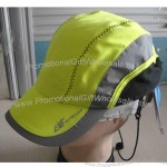 Belt Clasp Yellow Patchwork Outdoor Cap