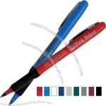 Bic (R) - Roller ball pen with grip section has a fine point and .7mm ink.