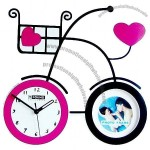 Bicycle Style Art Clock