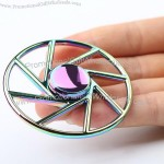 Bike Wheel Shape Colorful Hand Fidget Spinner
