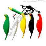 Bird shape folding gel pen.