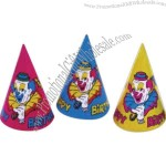 Birthday / Assorted colors party hats
