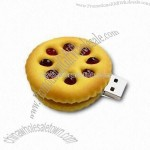 Biscuit Shaped USB Flash Drive