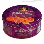 Biscuits Gift Tin Box