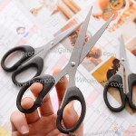 Black 6 inch Office Scissors