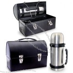 Black Dome Lunch Box and Thermos