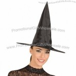 Black Halloween Witch Hat