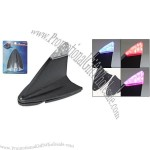 Black Plastic Car Flash Antenna Shark Fin Decoration
