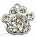 Bling Bling Pet Tag with Rhinestone