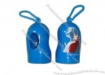 Blue Dog Waste Bag Dispenser