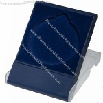 Blue Plastic Medal Coin Box