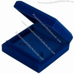 Blue Velvet Medal Coin Box