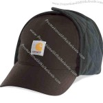 Bomber cap with 100% nylon shell.