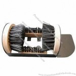 Boot Scrubber with Step Plate