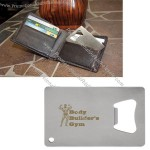 Bottle Opener in Credit Card Shaped