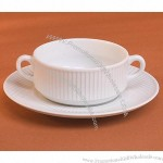 Bouillon Cup and Tray