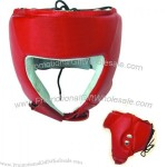 Boxing Helmet Red