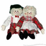 Boys' and Girls' Cloth Rag Dolls