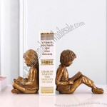 Boys and Girls Reading Bookend