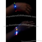 Braded LED Flashing Multicolor Bracelet