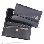 Branded Leather Business Card Wallet