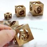 Brass Brainteaser IQ Square Ghost Ball