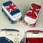 British Style Bus Piggy Bank
