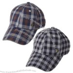 British style plaid Baseball Cap