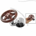 Brown Plastic Knob Safty Aid Power Handle for Auto Car Steering Wheel