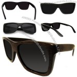 Brown Stain Bamboo Sunglasses