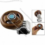 Brown Wood Style Steering Wheel Knob Power Handle for Car Vehicles