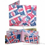 Bubble Gum Mighty Wallet Tyvek Wallet