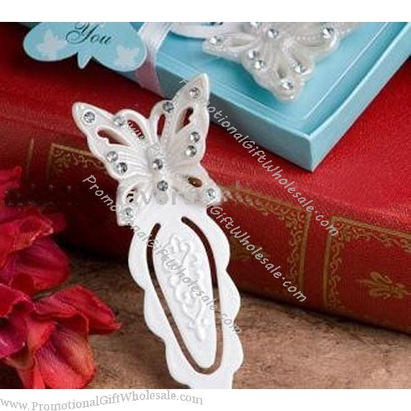 Butterfly Design Bookmark Wedding Favors Factory Direct 1033079303