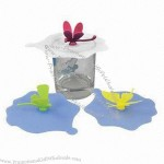 Butterfly Shape Silicone Cup Lid