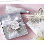 Butterfly Silver-Metal Bookmark