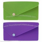 Button Silicone Wallet